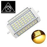 30W Nicht-Dimmbare R7s LED-Scheinwerfer-Birnen-118mm Warm Weiß 3000K 200 Degrees Double Ended J118 R7s LED Lampe 250W Halogen-Ersatz