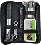 TRIXES Bike Tool Kit With Puncture Repair And Hand Pump