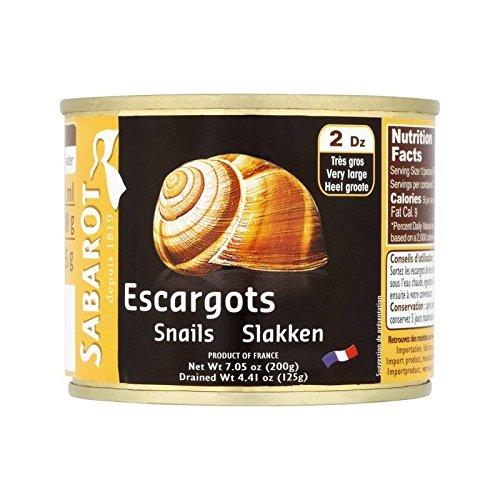 Sabarot Escargots 200G - Paquet de 6