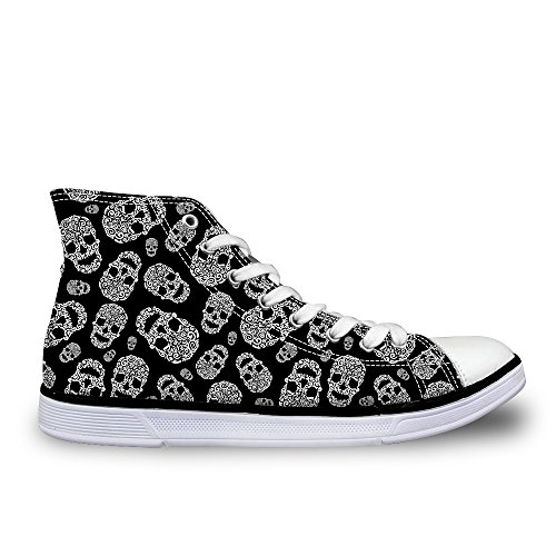 Flowerwalk - Zapatillas de Lona para Mujer, con Cordones,...