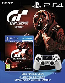 "Gran Turismo Sport + Manette Edition Limitée ""Gran Turismo Sport"" (B0764GNKJ9)   Amazon Products"