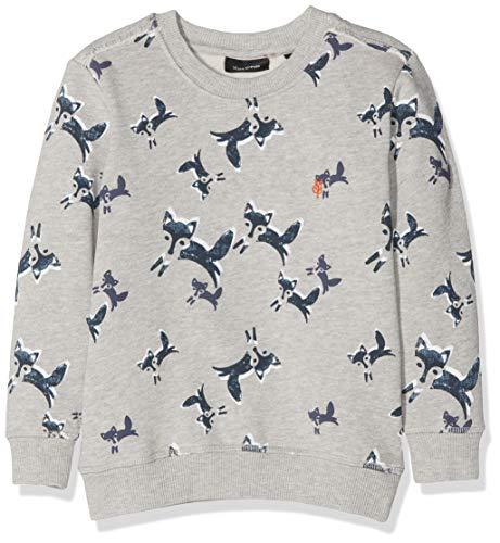 Marc O' Polo Kids Baby-Jungen 1/1 Arm Sweatshirt, Mehrfarbig (Allover|Multicolored 0003), 92