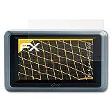 atFoliX Schutzfolie für Garmin Zumo 660 Displayschutzfolie - 3 x FX-Antireflex blendfreie Folie
