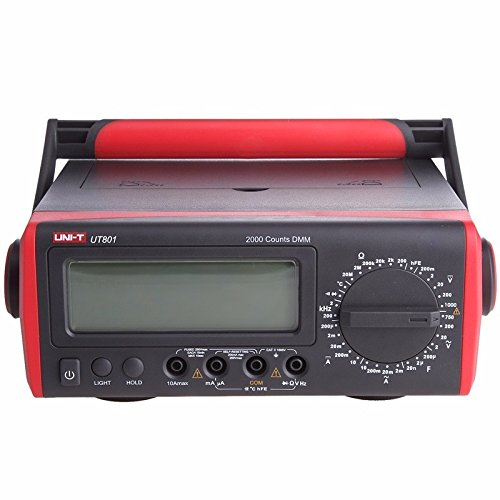 Uni-T ut801LCD Bench Typ Digital Multimeter 1000V 10A Volt Amp Ohm Kapazität Hz Tester Hochgenaue Bench Digital Multimeter