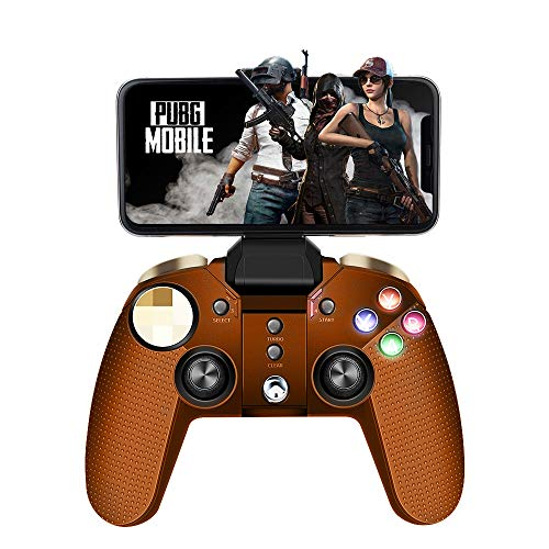 PowerLead PG-9118 Manette de jeu multimédia sans fil Bluetooth Compatible iOS Android Mobile Phone Tablet PC Android TV Box