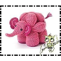 PUZZLE BALL MONTESSORI ELEFANTE GANCHILLO AMIGURUMI PERSONALIZABLE (Bebé, crochet, ganchillo, muñeco,
