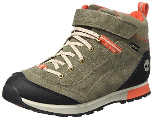 Timberland Kids Griffin Park Goretex Waterproof Chukka Boots, Braun (Canteen), 38 EU Gore-tex-chukka