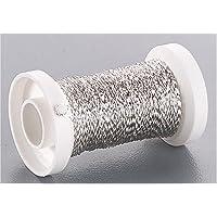 KnorrPrandell 6482902 - Draht Bouillon-Effektdraht silber, 50 meter/Rolle/2 mm