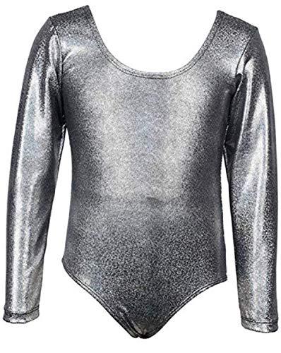 AGOGO 2018 Baby Kinder Mädchen Ballett Tänzerin Halbarm Dancewear Spitze Blume Gymnastik Trikot Stretch Tanzen Training Kostüm (Muster 7, M) (Muster Kostüm Bodysuit)
