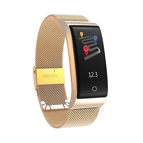 Elospy Fitness Armband mit Pulsmesser Fitness Tracker Schrittzähler mit mehrere Trainingsmodi IP67 Wasserdicht Aktivitätstracker mit Schlafmonitor Kalorienzähler kompatibel mit iOS Android