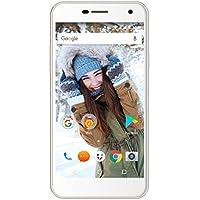 Wileyfox Spark Plus Smartphone 4G, Dual SIM, Android 6.0, Display HD 5.0 Pollici (12.70 cm), Cyanogen OS 13, Fotocamera da 16 MP, RAM da 2 GB, Memoria Interna da 16 GB, Bianco