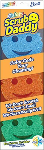 Scratch Free Scrub Daddy Colors (Pack of 9)