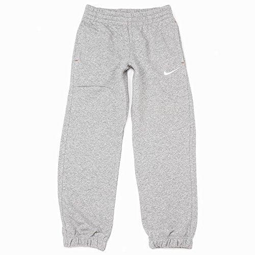 Nike bambino pantaloni da jogging brushed fleece cuff taglia 126 grigio