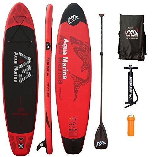 AQUA MARINA, MONSTER+CARBON-Paddle, Paddle Board, SUP, 330x75x15 cm