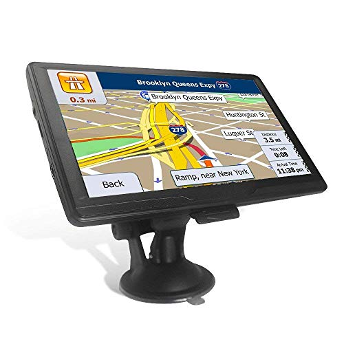Navigatore satellitare da 7 pollici, 8 G, con touchscreen, include mappe UK e EU e aggiornamenti gratuiti a vita
