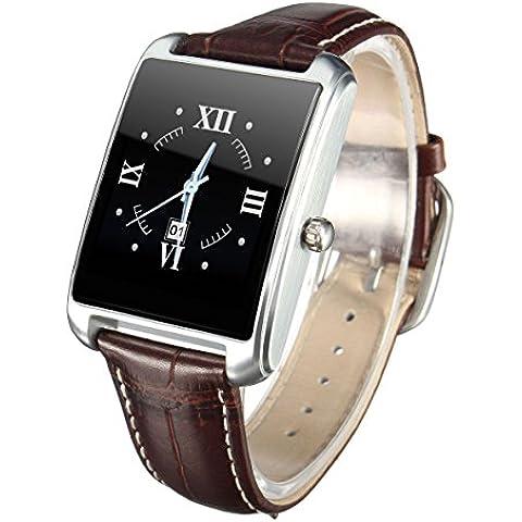 Smart Watch, ELEGIANT Bluetooth Smart Wristband Sport Bracciale cinturino impermeabile IP65con per, argento