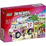 LEGO - 10727 - Juniors  - Jeu de Construction - La Camionnette de Glaces d'Emma