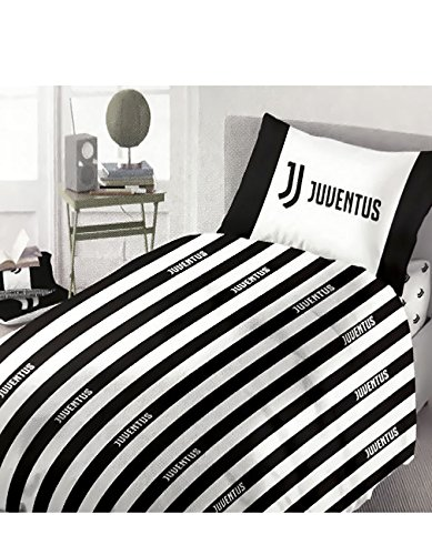Parure Copripiumino F.C. Juventus ufficiale per letto Singolo una piazza