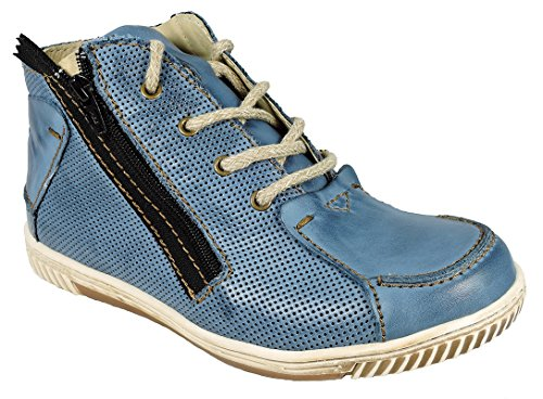 ROVERS; Damen-Stiefelette; 46004 jeans/jeans