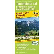 Tannheimer Tal, Sonthofen, Füssen, Oberstdorf, Reutte: Wander- und Radkarte mit Ausflugszielen & Freizeittipps, wetterfest, reißfest, abwischbar, GPS-genau. 1:35000 (Wander- und Radkarte / WuRK)