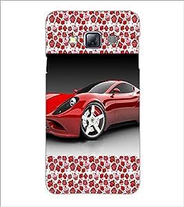 Printdhaba Car D-2514 Back Case Cover For Samsung Galaxy A3