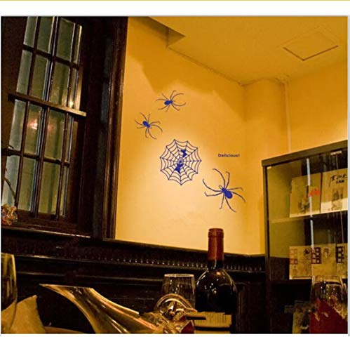 Lvabc Die Spinne Und Der Schmetterling Vinyl Wandkunst Aufkleber Poster Tapete Kinder Themed Zimmer Aufkleber Wandaufkleber 56X60 Cm