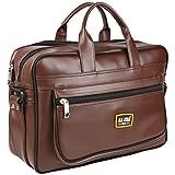 #5: Sidrah Sales Office Leather Laptop Bag Wisdom 15.6 inch Laptop Bag Sleek File Case Formal Office Laptop Bag Premium Executive Laptop Bag