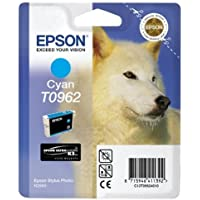 Epson T0962 Inkjet Cartridge UltraChrome K3 Page Life 1505pp Cyan Ref T09624010
