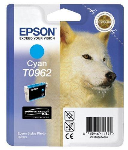 Epson T0962 Cartouche d'encre d'origine Cyan