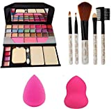 MAA AMBE TYA 6155 Makeup Kit + 5 Pieces Brush + 2 Blender
