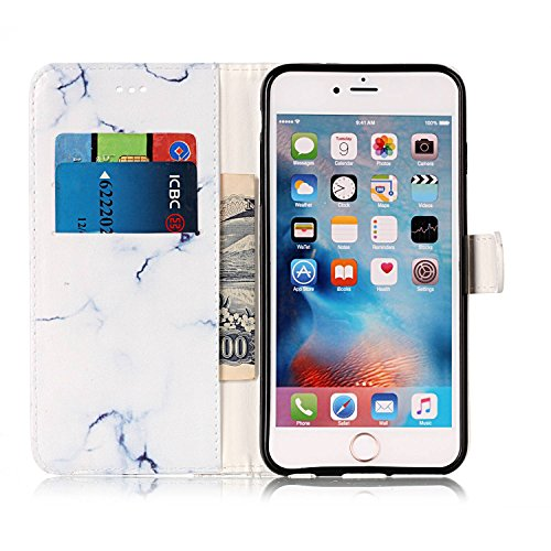 Für Apple IPhone 6 & 6s Horizontale Flip Case Cover Luxus Blume / Marmor Textur Premium PU Leder Brieftasche Fall mit Magnetverschluss & Halter & Card Cash Slots ( Color : F ) G