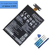 LG - Batterie Origine BL-T5 Pour LG Google Nexus 4 E960 (2100mAh)