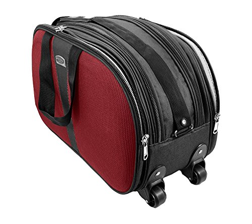 Cabin Luggage Bag, Travel Duffle Trolley Bag Attractive Design with Wheels for Travelling