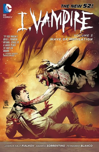 I, Vampire Vol. 3: Wave of Mutilation (The New 52!: I, Vampire) (English (New Wave Halloween)