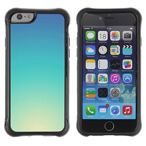 Graphic4You ALIEN SYMBOLS Muster Shockproof Anti-Rutsch Weichen Hülle Case Tasche Schutzhülle für Apple iPhone 6 Plus / 6S Plus Design #10