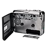 from YQZH YQZH-EU-007 Standalone Stereo Cassette Player / Tape to MP3 Converter to USB Flash Drive (Portable Walkman/Music Player,Music Digitizer,Auto-Reverse)
