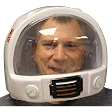 Casco de astronauta de plástico, NASA, Estados Unidos, disfraz adulto, Interstellar, Gravity
