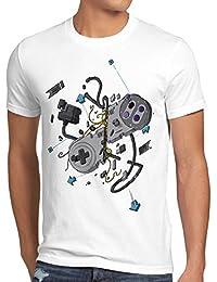 style3 Contrôleur 16-Bit T-Shirt Homme snes nes kart yoshi luigi mario