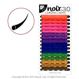 Noir 0.07 Luminizing Lashes Rainbow Volume Individual Eyelash Extensions (C 14mm)