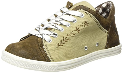 Spieth & Wensky Damen 460 D Janet Sneaker, (Natur St 251 Braun 3444), 37 EU