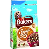 Bakers Complete Dog Food Small Dog Tender Meaty Chunks Tasty Beef and Country Vegetables, 2.7 kg - Pack of 4