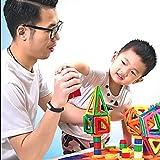 OOFAY Magnetische Bausteine 97 Teiliger Kinder Magnet Spielzeug Bau Fliesen Für Kreativität Lernspielzeug Für Kinder