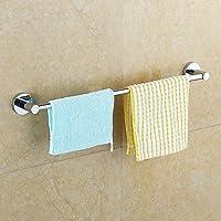 ZHGI Il portasciugamano in acciaio inox round-Spina unipolare a una barra asciugamano asciugamano da bagno