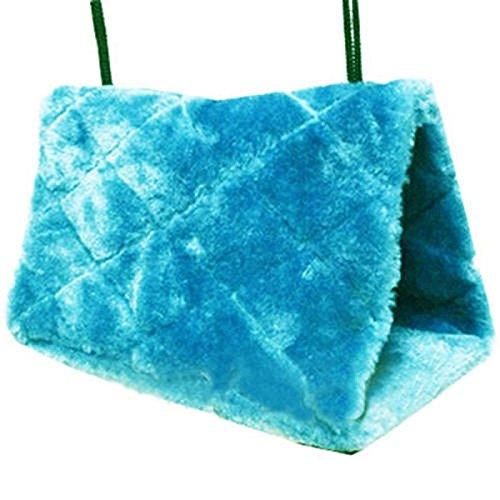 Haustier-Hängematte-Bett, für Katzen, Kaninchen, Ratte, kleine Hunde, Satz von 1pc, 5 wahlweise freigestellte Farbe (Blau-bett-satz)