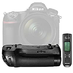 Neewer Nw-d850 Vertical Shooting Power Pack Battery Grip Replacement For Mb-d18 With 2.4g Hz Wireless Remote Control For Nikon D850 Camera(battery Not Included)