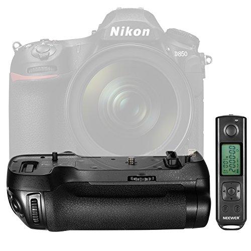 Neewer NW-D850 Vertikale Aufnahme Power Pack Batterie Griff Ersatz für MB-D18 mit 2,4G Hz Infrarot Fernbedienung für Nikon D850 Kamera (Batterie nicht Im Lieferumfang enthalten)