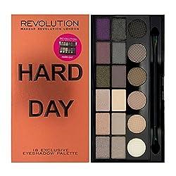 Makeup Revolution Salvation Palette Hard Day, 13g