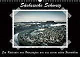 Sächsische Schweiz (Wandkalender 2020 DIN A3 quer): Traumhafte Landschaft im Elbsandsteingebirge, ein Kalender mit Fotografien wie aus einem alten ... (Monatskalender, 14 Seiten ) (CALVENDO Natur) -