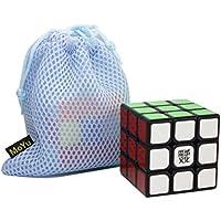 Comparador de precios OJIN MoYu WEILONG V2 la versión Mejorada 3x3x3 3 Capas Suave Cubos mágicos Cubo de Velocidad Rompecabezas Juguetes con una Bolsa de Cubo (Negro) - precios baratos