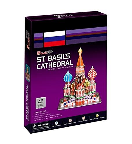 Cubicfun 3D Puzzle - ST.BASIL'S CATHEDRAL, World's Great Architeture